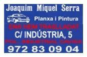 Planxisteria Joaquim Miiquel