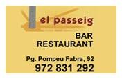 Restaurant Bar El Passeig