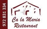 Restaurant Ca la Maria