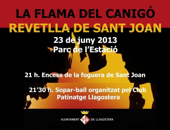 Revetlla de Sant Joan a Llagostera