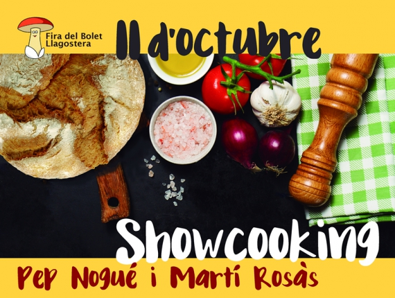 Showcooking amb Girona Excel·lent