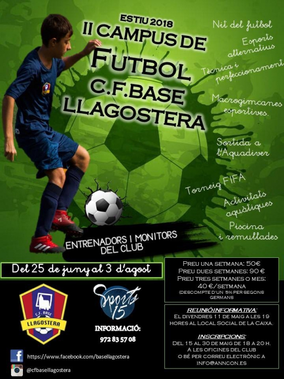 Campus de Futbol del Club Base Llagostera